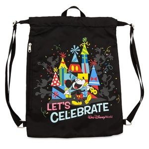 "Mickey Mouse ""Celebration of Mouse"" Cinch Sack"